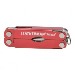 Leatherman Micra Multi Tool Knife Red (10 Tool) Front Side Closed