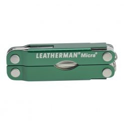 Leatherman Micra Multi Tool Knife Green (10 Tool) Front Side Closed
