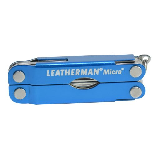 Leatherman Micra Multi Tool Knife Blue (10 Tool) Front Side Closed