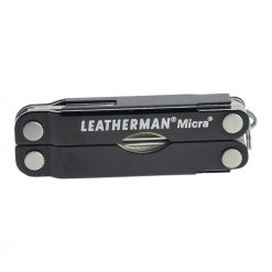 Leatherman Micra Multi Tool Knife Black (10 Tool) Front Side Closed