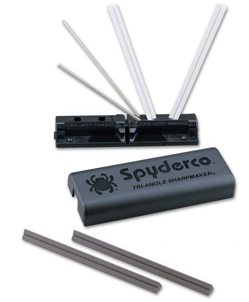 Spyderco Tri-Angle Sharpmaker Knife Sharpening Kit Open
