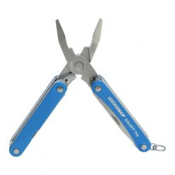 Leatherman Squirt PS4 Multi Tool Blue Front Side Open