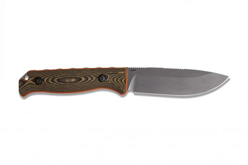 Benchmade Saddle Mountain Skinner S30V Blade Richlite Handle Back Side