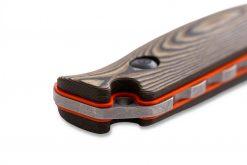Benchmade Saddle Mountain Skinner S30V Blade Richlite Handle Close Up