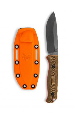 Benchmade Saddle Mountain Skinner S30V Blade Richlite Handle With Sheath
