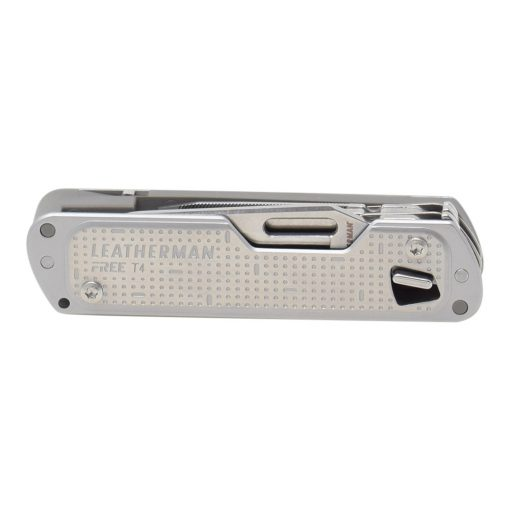 Leatherman Free T4 Multi Tool Stainless Steel Front Side Closed