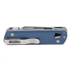 Leatherman Free T4 Multi Tool Navy Back Side Closed