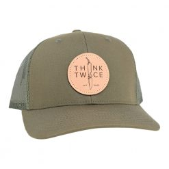 Chris Reeve Knives Trucker Hat Loden Green Front