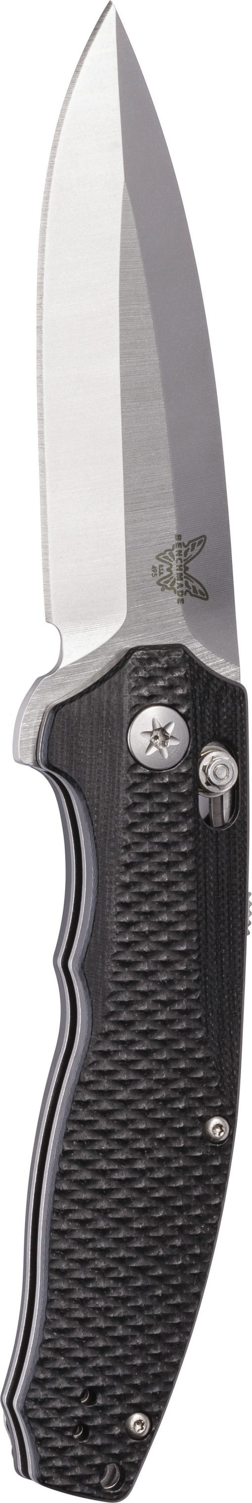 Benchmade Vector AXIS-Assist S30V Blade Black G-10 Handle Front Side Open