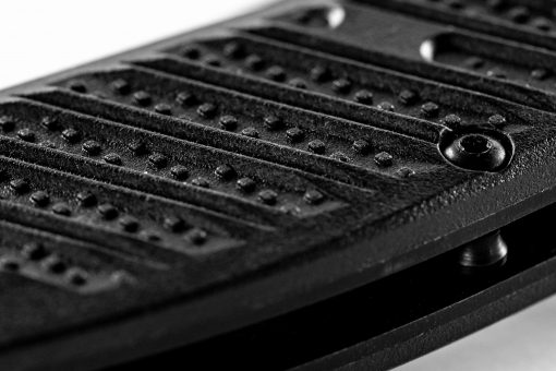 Benchmade Mini Presidio II S30V Blade Black CF-Elite Handle Scales Close Up