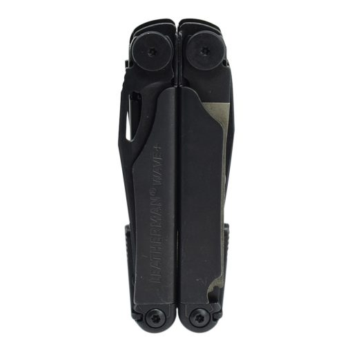Leatherman Wave Plus Multi-Tool Black Front Side