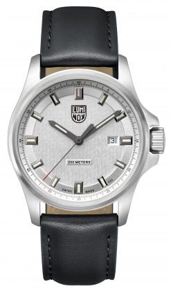 Luminox Dress Field 1830 Series 1839 Black/Silver Front Side Closed Front Side Closed Center