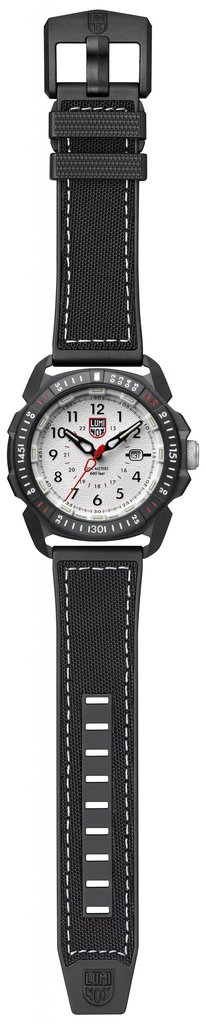 Luminox ICE-SAR ARTIC 1000 Series - CARBONOX 1007 Silver/Black Front Side Open Center
