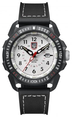 Luminox ICE-SAR ARTIC 1000 Series - CARBONOX 1007 Silver/Black Front Side Closed Center
