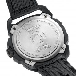 Luminox ICE-SAR ARTIC 1000 Series - CARBONOX 1002 Black/Red Back Side Open Back Side Open Close Up