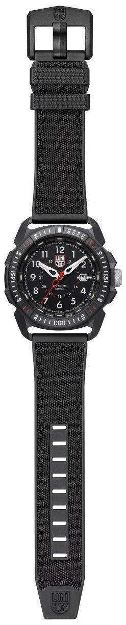 Luminox ICE-SAR ARTIC 1000 Series - CARBONOX 1001 Black/White Front Side Open Center