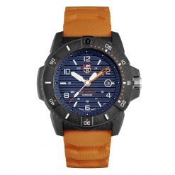 Luminox Navy SEAL 3600 Series 3603 Blue/White/Orange Front Side Closed Center