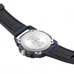 Luminox ICE-SAR ARTIC 1000 Series - CARBONOX 1003.ICE Navy Blue/White Back Side Open Angled