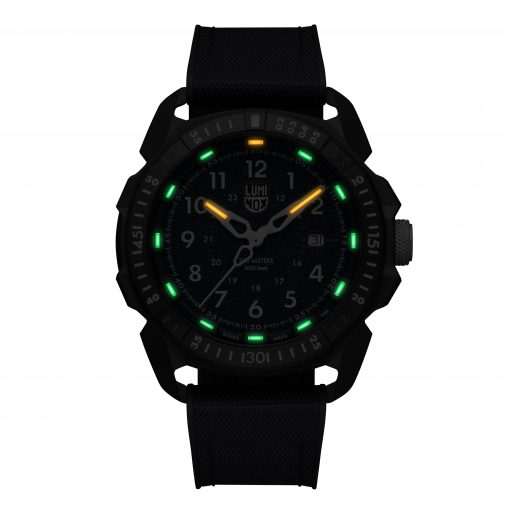 Luminox ICE-SAR ARTIC 1000 Series - CARBONOX 1003.ICE Navy Blue/White Front Side Closed Center Night