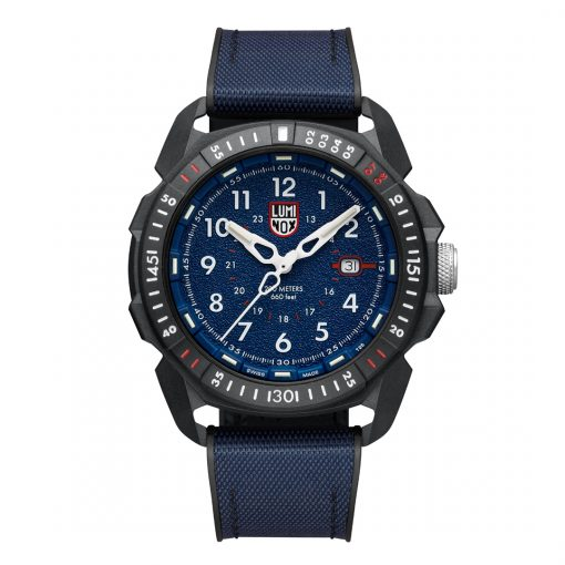 Luminox ICE-SAR ARTIC 1000 Series - CARBONOX 1003.ICE Navy Blue/White Front Side Closed Center