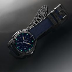 Luminox ICE-SAR ARTIC 1000 Series - CARBONOX 1003.ICE Navy Blue/White Front Side Open With Background