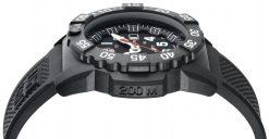 Luminox Navy SEAL 3500 Series 3501.L Black/White Side Profile