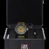 Luminox Navy SEAL 3600 Series 3617.SET Green/Black Front Side Closed In Box