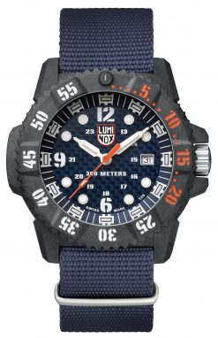 Luminox Master Carbon SEAL 3803.C Blue/Black Front Side Closed Center