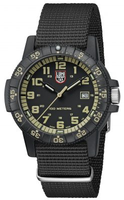 Luminox Leatherback SEA Turtle Giant 0333 Front Side Angled