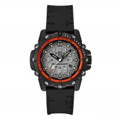 Luminox Commando Frogman 3300 Series 3301 Grey/White Front Side Closed Center