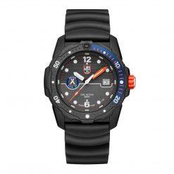 Luminox Bear Grylls Survival SEA 3720 Series 3723 Black/Blue Front Side Closed Center