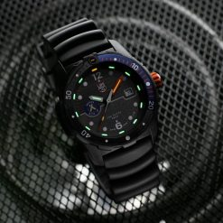 Luminox Bear Grylls Survival SEA 3720 Series 3723 Black/Blue Front Side Closed With Background