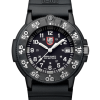 Luminox Original Navy SEAL 3000 Series 3001 Black/White Front Side Closed Center