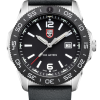 Luminox Pacific Diver 3120 Series 3121 Black/White Front Side