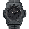 Luminox Navy SEAL 3500 Series 3502.BO Black/Black Front Side Closed Center