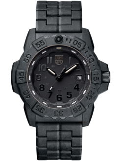 Luminox Navy SEAL 3500 Series 3502.BO Black/Black Front Side Closed Center