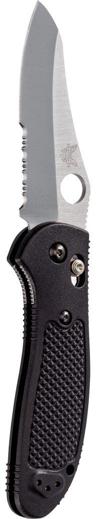 Benchmade Griptilian S30V Sheepsfoot Combo Blade Black Nylon Handle