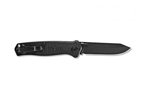 Benchmade Mediator S90V Blade Black G-10 Handle Back Side Open