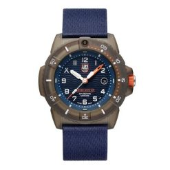Luminox Bear Grylls ECO Series Limited Edition 3703 Bronze/Blue Front Side Closed Center