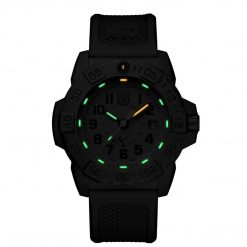 Luminox Navy SEAL 3500 Series XS.3517 OD Green/OD Green Front Side Closed Center Night