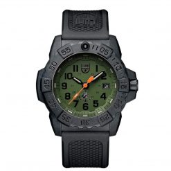 Luminox Navy SEAL 3500 Series XS.3517 OD Green/OD Green Front Side Closed Center