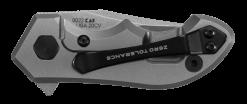 Zero Tolerance 0022 20CV Blade Titanium/Carbon Fiber Handle Back Side Closed
