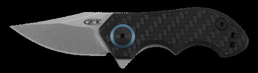 Zero Tolerance 0022 20CV Blade Titanium/Carbon Fiber Handle Front Side Open