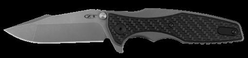 Zero Tolerance 0393GLCF 20CV Blade Titanium Handle Carbon Fiber Overlay Front Side Open