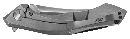 Zero Tolerance 20CV Blade Titanium/Red Carbon Fiber Handle Back Side Closed