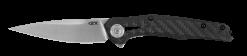 Zero Tolerance 0707 20CV Blade Carbon Fiber/Titanium Handle Front Side Open