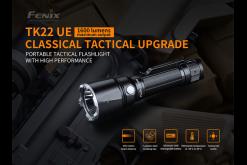 Fenix TK22UE Tactical Flashlight - 1600 Lumens Infographic 7