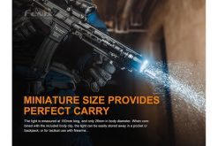 Fenix TK22UE Tactical Flashlight - 1600 Lumens Infographic 2