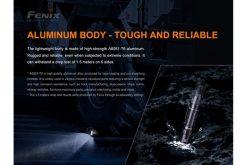 Fenix PD32 V2.0 Compact Flashlight - 1200 Lumens Infographic 12