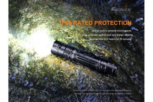 Fenix PD32 V2.0 Compact Flashlight - 1200 Lumens Infographic 13